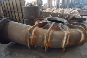 Mitambo Machine Pampu Spares Water Pump Casing