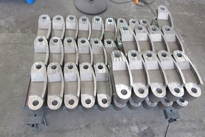 Chain grating machine ketting Link