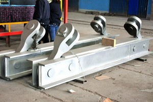 Oermeitsje ladle in Smelting Workshop Casting ladle hook assembly