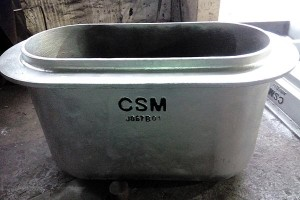 Transfer Ladle in Smelting Workshop  Crucible