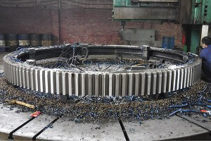 Girth gear for rotary kiln, ball mill and tube mill