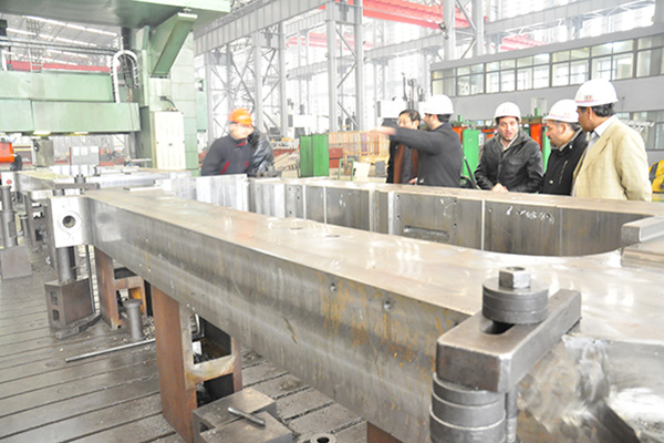 Cast steel mill housing Featured Image