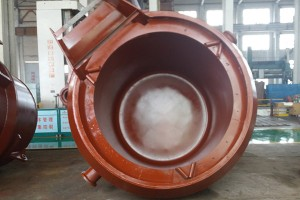 Transfer Ladle in Smelting Workshop  Matte ladle