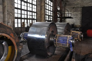 Riding wheel for rotary kiln