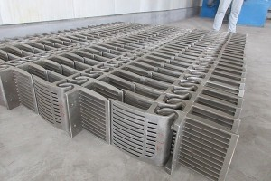 Chain grating machine  Grate Plate